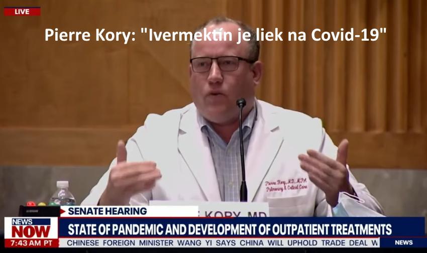 Dr. Pierre Kory: lvermektín je liek na Covid-19